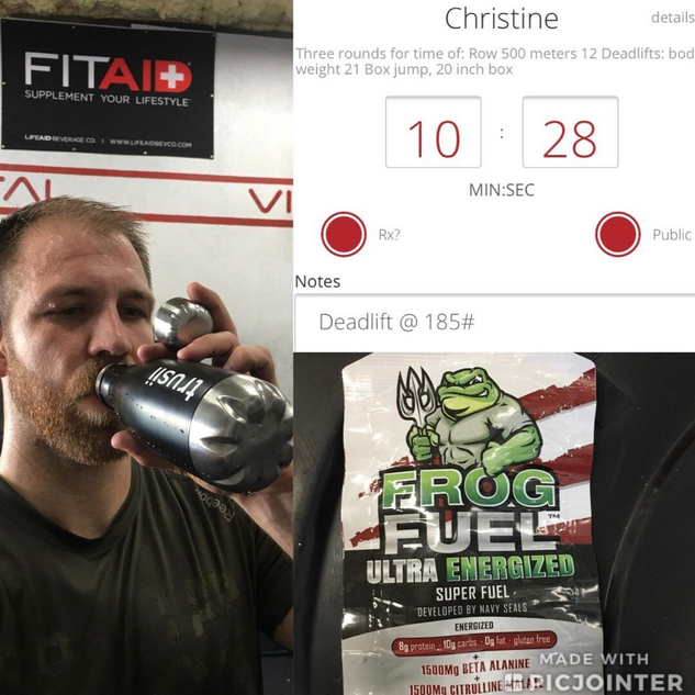 trusii, trusii with fitaid and frog fuel