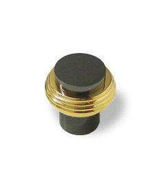 "Solid Brass And Black Nickel Amerock Allison Advantage Knob 3/4"""