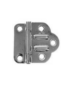 "Nickel McDougall Offset Hinges - 1 7/8"" W x 1 3/4"" H"