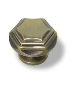 "Antique Bronze 3-Tier Design Knob  1 1/2"""