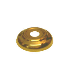 Stamped Brass Cannon Ball Bed Ball Washer