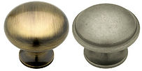 Brass, Polished Brass, Iron Knobs