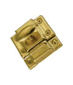 Brass Plated Cabinet Door Latch