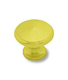 "Brass Plated Small Knob 1"""