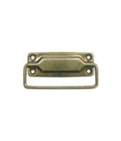 Brass Plated Steel Interior Trunk Drawer Pull