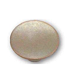 """Worn Nickel & Copper Drawer Knob 1 1/2"""""""