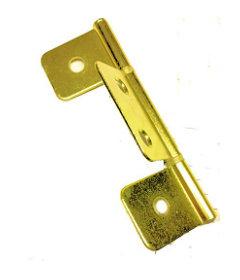 "Flag Three Leaf Brass Hinge Bi-fold & Shutter 3 1/2"""
