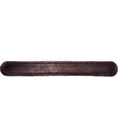 "Premium Grade Burgundy Leather Trunk Handle-8-3/4"""
