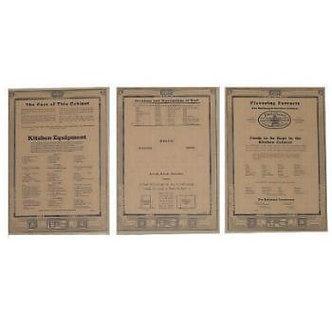 """McDougall Door Chart Set 8 5/16"""" Wide x 12"""" High"""