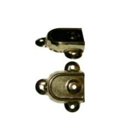 Brass Plated Stamped Steel Cap Style Trunk Handle Loop