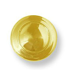 "Bright Brass Ten Pack Knob 1-1/4"""