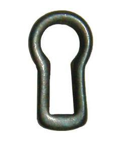 Antique Brass Decorative Keyhole Insert