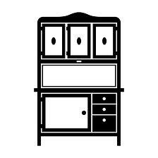 Hoosier Cabinet Hardware