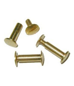 "Brass Post Screw-5/8"""