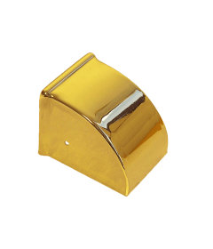 Brass Large Duncan Phyfe Toe Cap