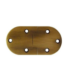 Antique Brass Butler Tray Hinges