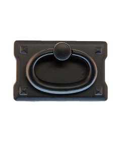 Oil Rubbed Bronze Small Mission Style Bail Pull