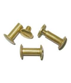 "Brass Post Screw- 1/2"""