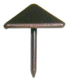 """Antique Copper Pyramid Shape Head Tacks 5/8"""" Long"""
