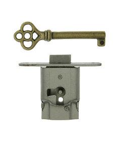Right Hand Full Mortise Drawer Lock Set