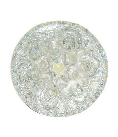 """Empire Clear Pressed Glass Drawer Knob 2-1/8"""""""