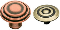 Antique Copper and Antique English Knobs