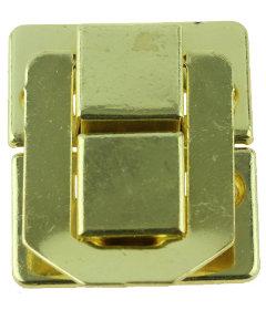 "Brass Plated Snap Catch - 1 7/16"" x 1 1/8"""