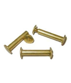 "Brass Post Screw- 1"""