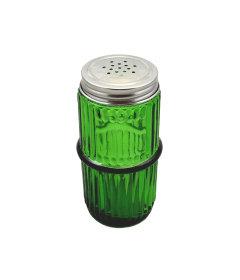 Green Mission Ringed Spice Jar