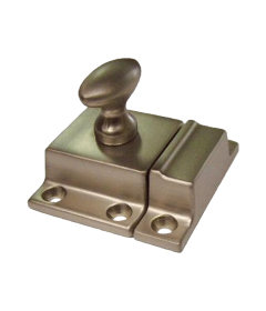 Brushed Nickel Classic Cabinet Door Latch