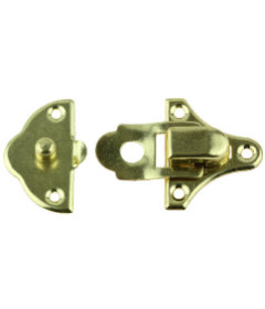 Brass Plated Small Snap Catch -1 1/2""