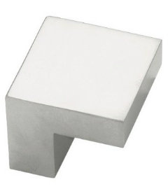 "Aluminum Plaza Knob 5/8"""