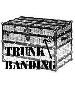 "Black Trunk Banding-1-1/4"""
