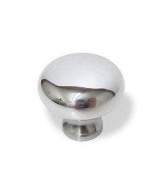 """Polished Chrome Baldwin Brass Knob-1 1/4"""""""