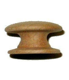 Side Grain Cherry Drawer Knob 1-1/2""