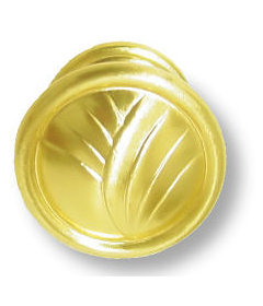 Sterling Brass True Elegance Knob 1-1/4""