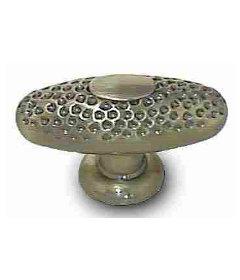 """Antique Hammered Bronze Knob 2"""""""