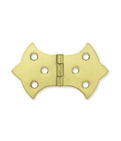 Brass Butterfly Hinges for Boxes & Trunks