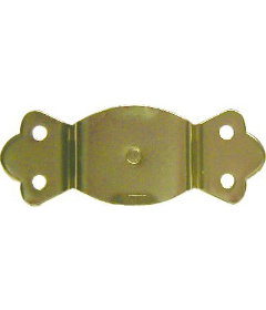 Brass Plated Stamped Steel Open End Style Trunk Handle Loop