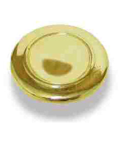 "Bright Brass Knob 1-1/4"""