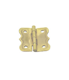"""Small Brass Butt Hinges for Boxes & Trunks - 1"""" H x 7/8"""" W"""