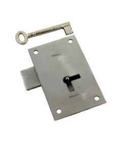 Large Heavy Steel Flush Mount Cabinet Door Lock Set