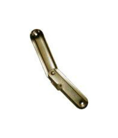 Brass Plated Stamped Steel Small Trunk Stay