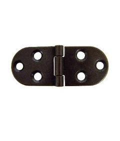 """Antique Finished Sewing Machine Hinges - 1 1/4"""" Wide x 3 1/4"""" Long"""