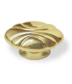 """Brass Amerock Radiance Oval Knob - 1-1/2""""X7/8"""""""