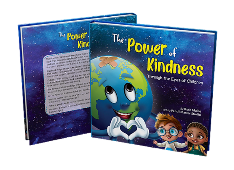 The Power of Kindness Through the Eyes of Children (hardcover)