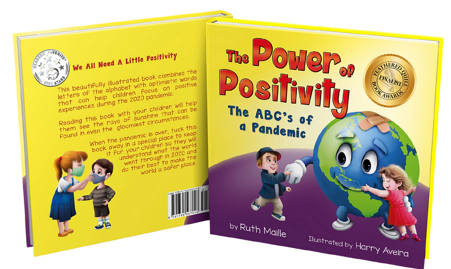 The Power of Positivity: The ABCs of a Pandemic( hard cover)