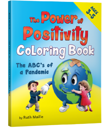 The Power of Positivity Coloring Book
