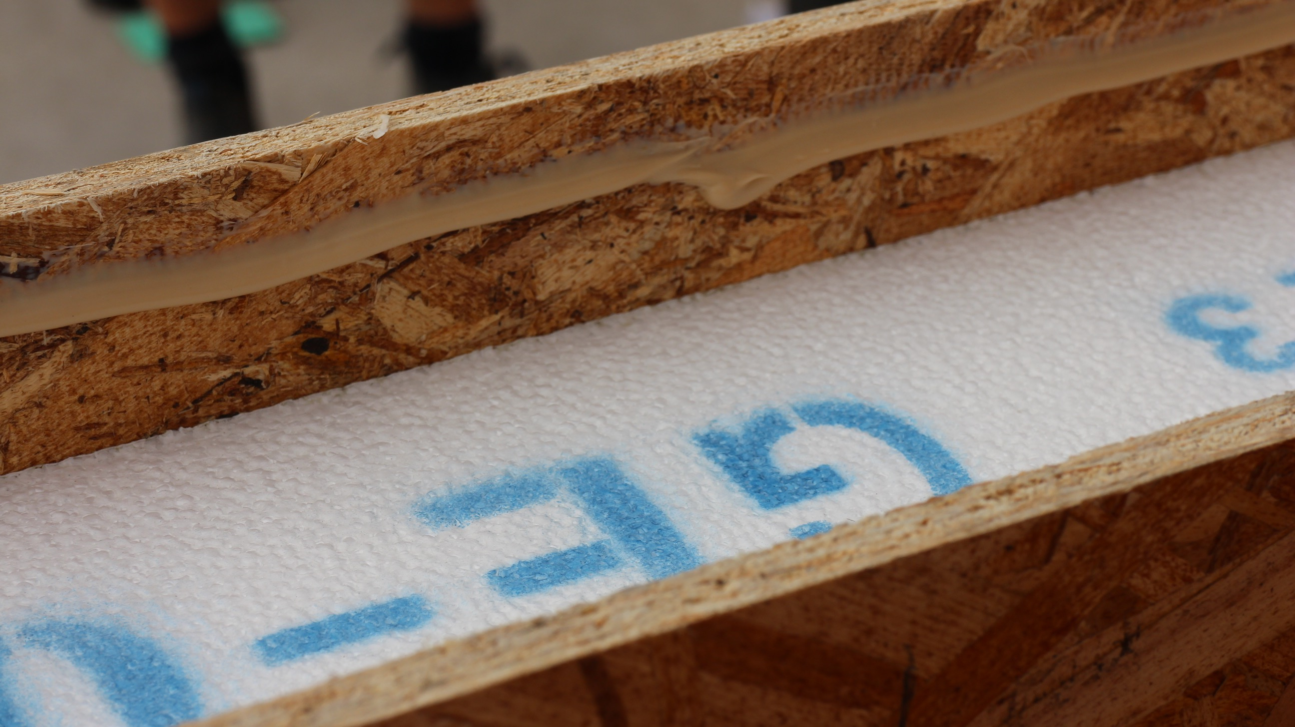 Sealing the panels