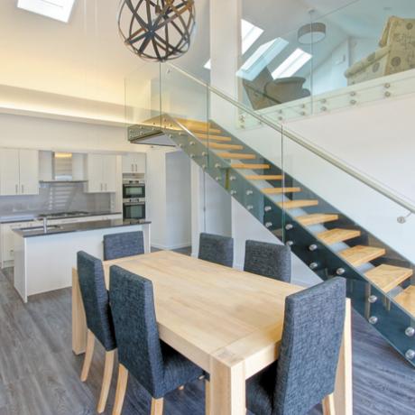 Interior / upper story gallery